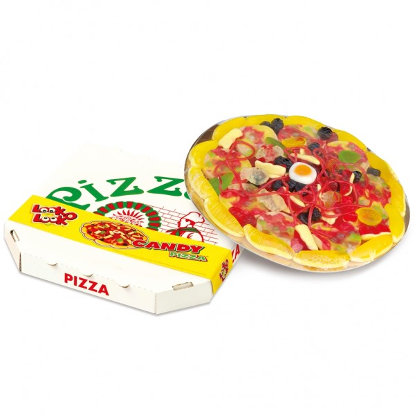 Look-O-Look Candy Pizza
