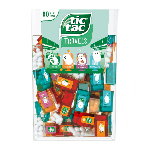 Tic Tac Travels Mini Boxes