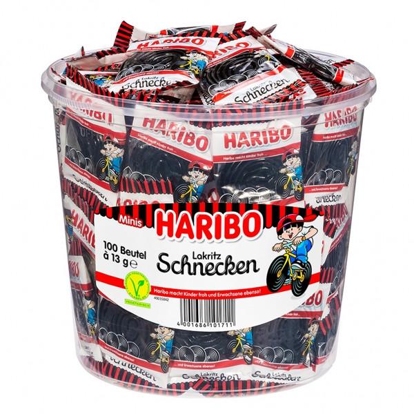 Haribo Lakritz Schnecken Minis